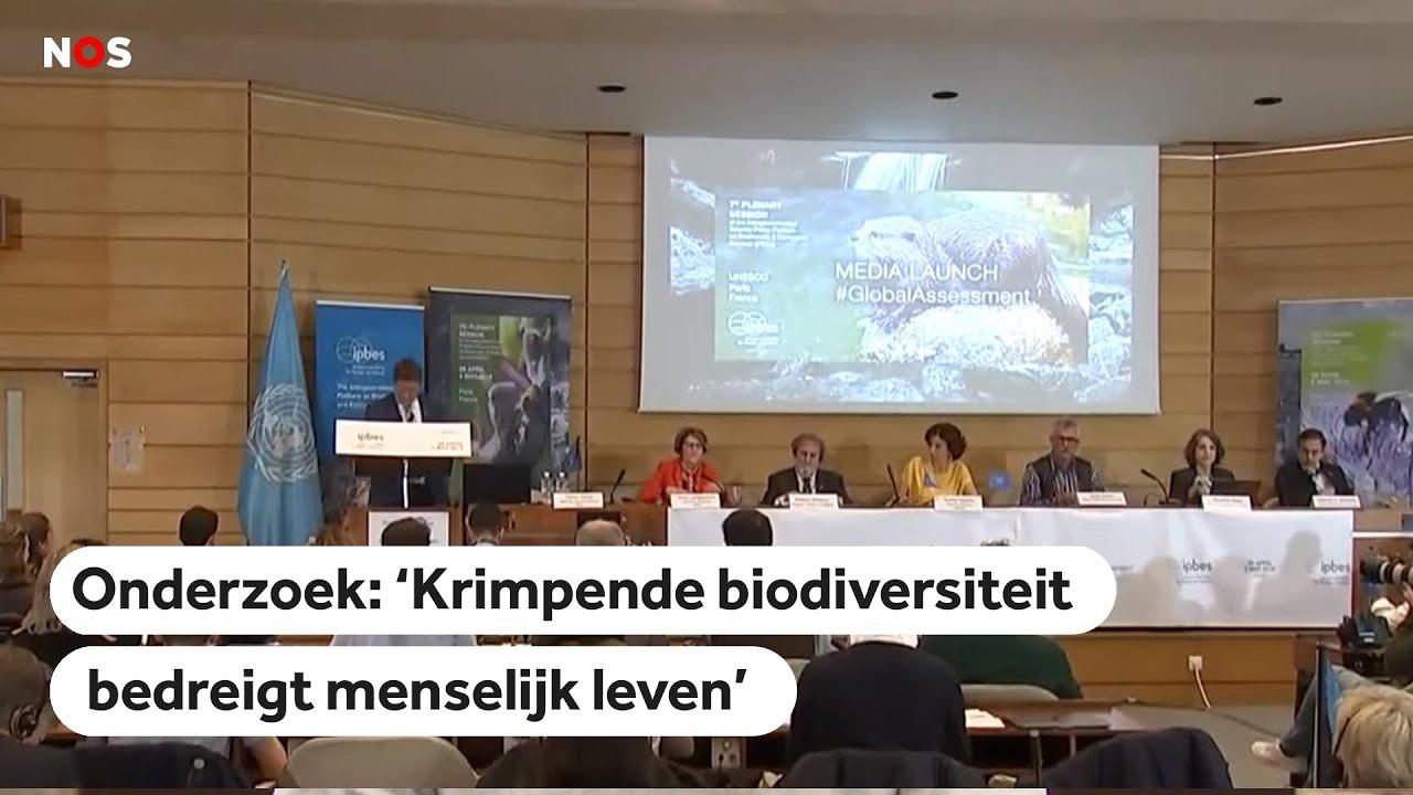 LIVE: Persconferentie Mega-onderzoek Naar Biodiversiteit