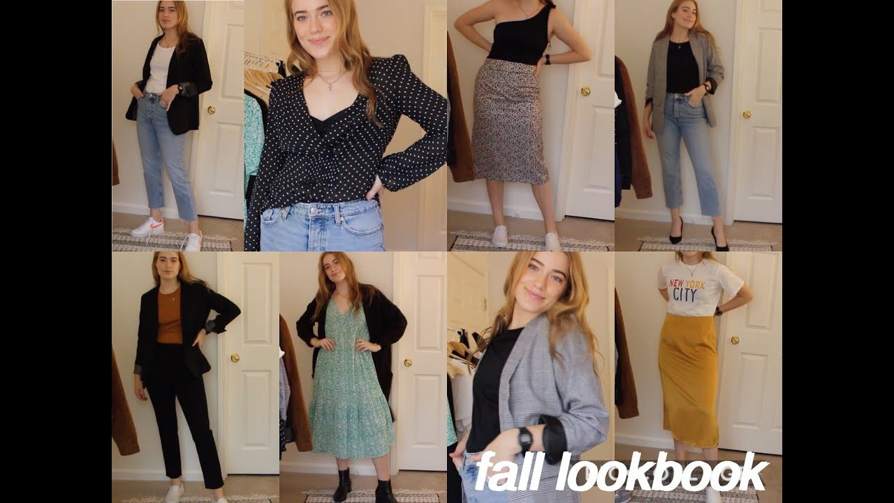 [VIDEO] - Fall 2019 Lookbook // How to Style Fall Outfits 2
