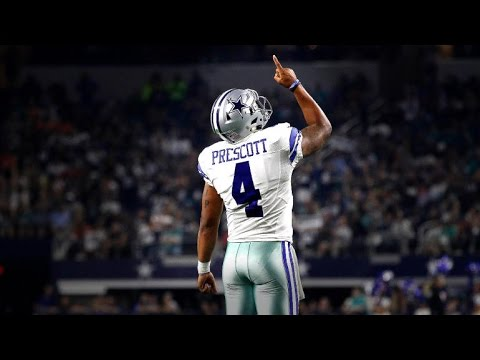 Dak Prescott Rookie Highlights