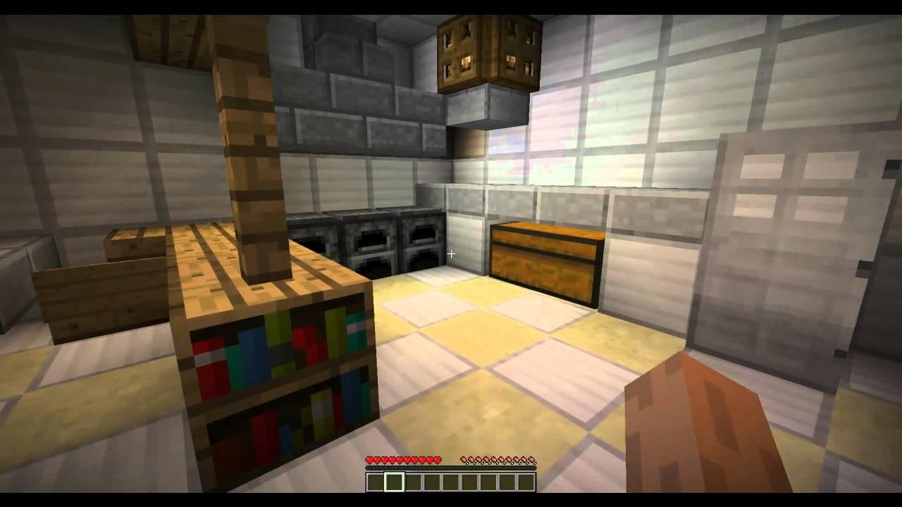 Как сделать кухню в майнкрафте фото 672