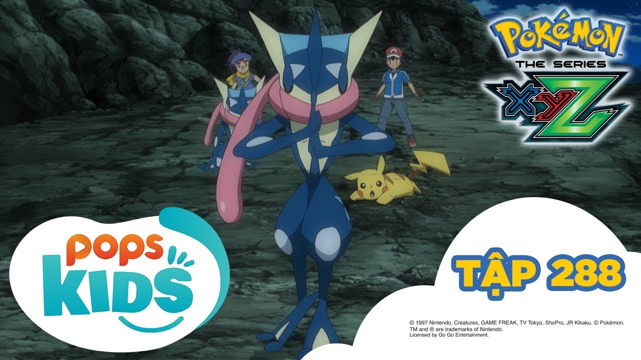 Pokémon Tập 288 - Quyết chiến tại làng Ninja! - Hoạt Hình Pokémon Tiếng Việt S19 XYZ