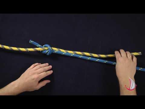 Как завязать ткацкий узел