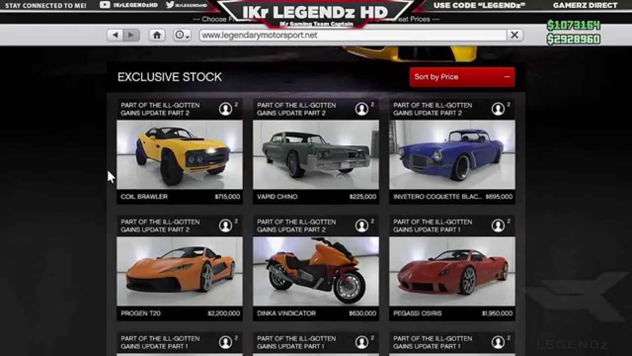 gta 5 dlc all new ill gotten gains part 2 cars full details prices