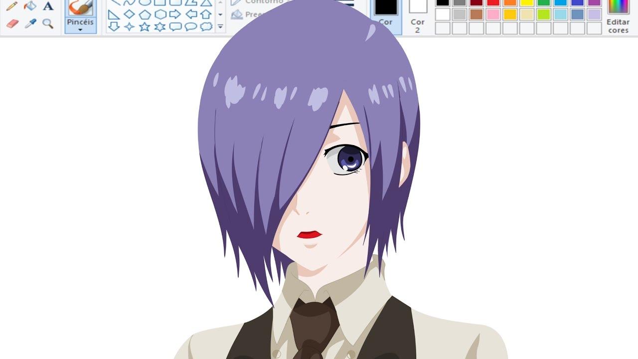 Desenhando Anime No Paint