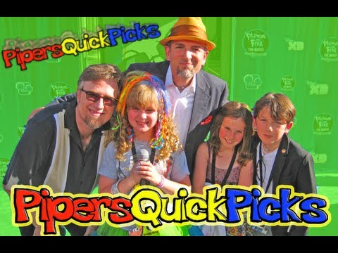 PHINEAS and FERB Red Carpet DAN & SWAMPY and DJANGO MARSH catch up with PIPER REESE!