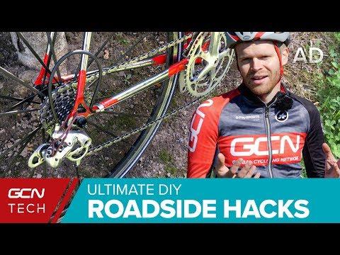 Ultimate DIY Roadside Bike Hacks To Get You Home