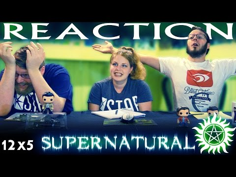 "Supernatural 12x5 REACTION!! ""The One You"