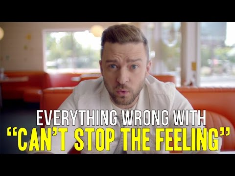 Everything Wrg With Justin Timberlake Cant Stop The Feeling