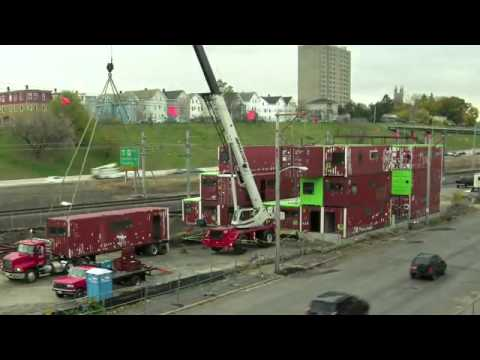 shipping container office building rhode. the box office shipping container project in providence rhode island youtube building 3