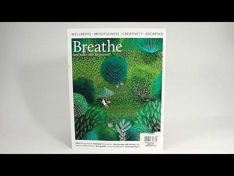 Mixed Media Art Journaling Inspiration from Breathe Magazine - Barb Owen  - HowToGetCreative.com