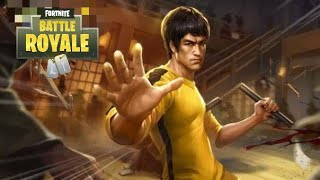 """*NEW* BRUCE LEE SKIN! SOLO DOLOS """"KING OF THE HILL"""" (Fortnite Battle Royale)"""