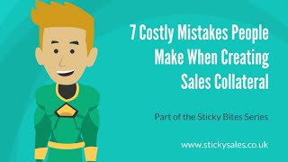 The 7 devastating sales mistakes #5 - Sales team strengths