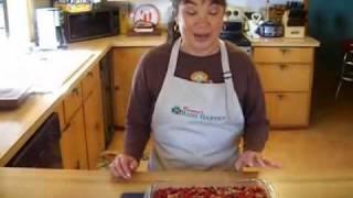 Real Texas Cinnamon Basil Baked Cranberry Sauce