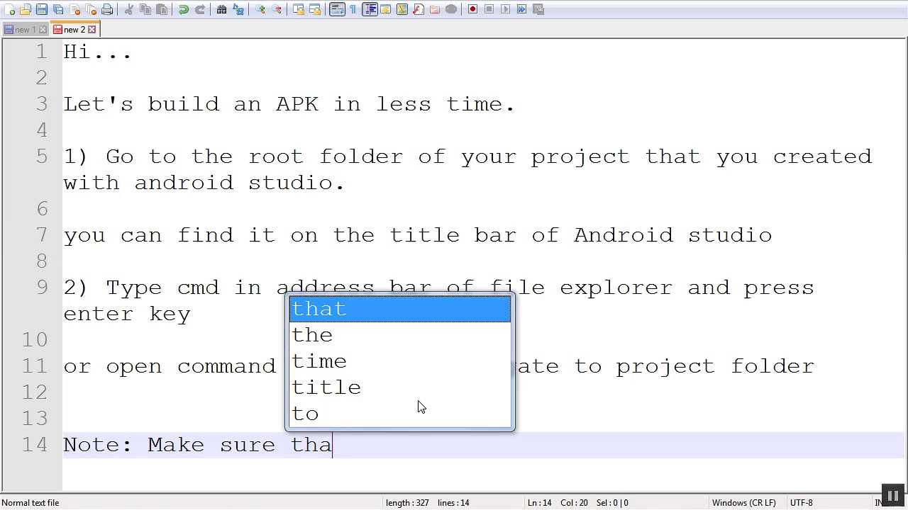Efficient way to make APK and reduce android build time