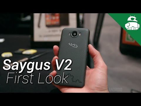 Hands-on with the feature-filled Saygus V2