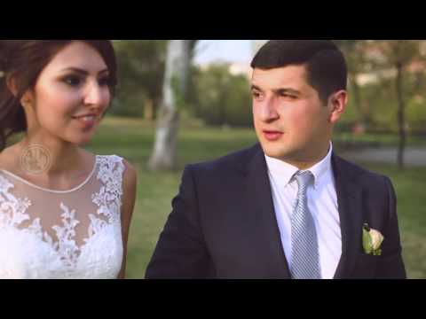 Artur and Marine Wedding Clip by ATM Video Studio tel:091-691-691