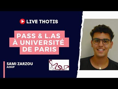 PASS & L.AS à Université de Paris - Thotis