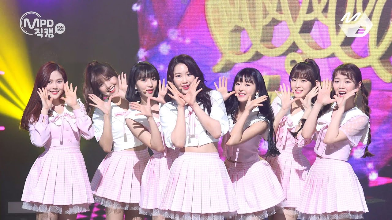 Mpd 4k coloring book oh my girl fancam Coloring book lyrics oh my girl