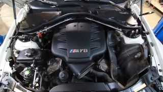 BMW E90 E92 E93 M3 S65 V8 Water pump and Thermostat DIY replacement