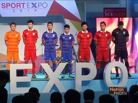 แกรนด์สปอร์ต เปิดตัวชุดนักฟุตบอลทีมชาติไทย