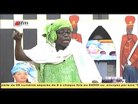 Aida Mbodji sur la route de Fatick - Kouthia show - 15 Mars 2016 - TFM