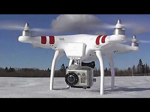 Drone Flying Demo With Great Photography Using Gopro