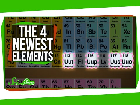 Meet the 4 Newest Elements