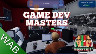 Game Dev Masters review (early access) - I thumbed myself down! (Video Game Video Review)