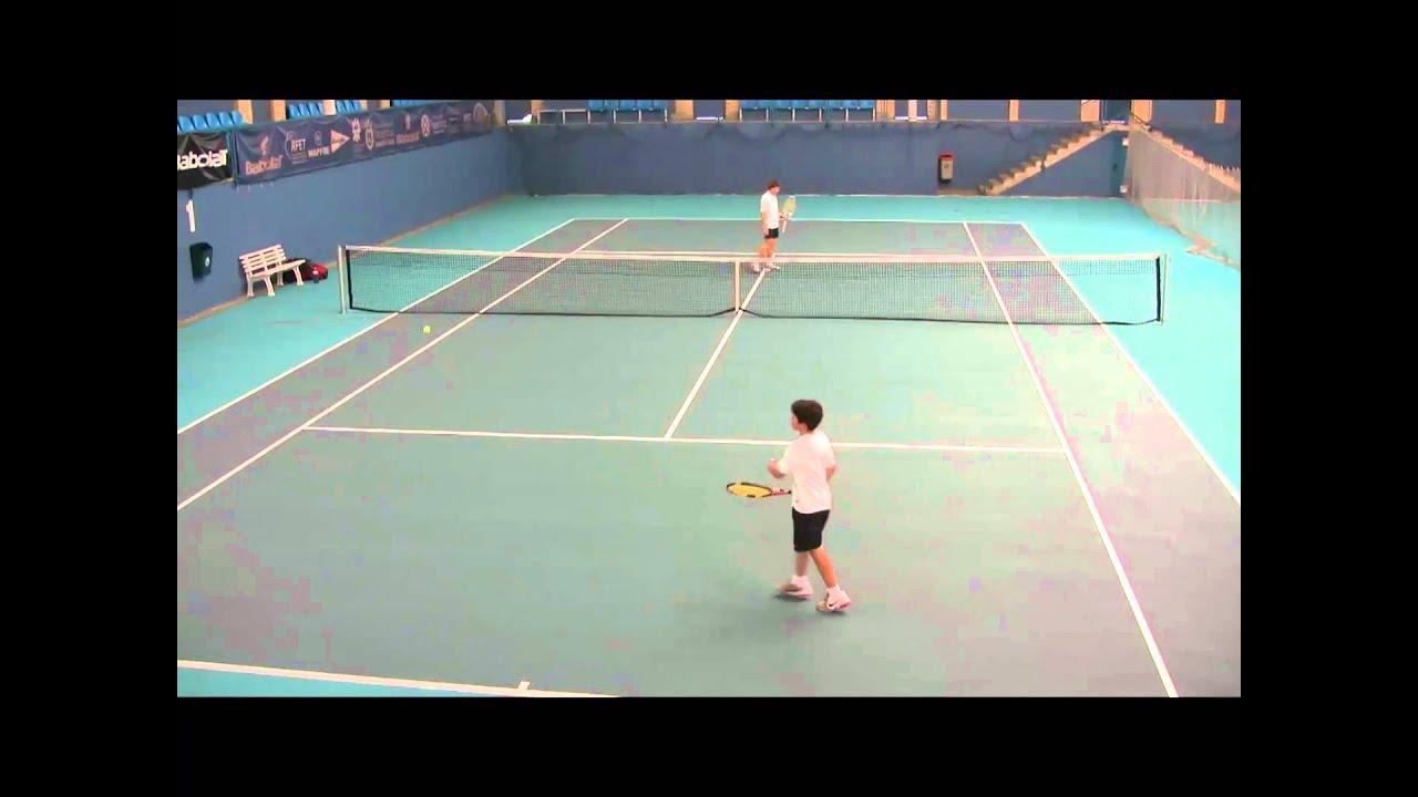 Deporte Navarro. Tenis. Torneo infantil 2011