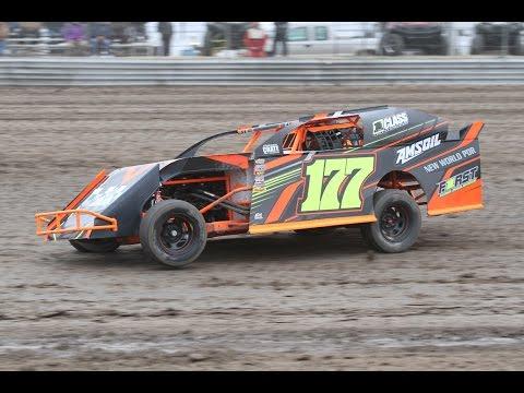 RPM Speedway Sunflower Classic Heat. 2017  IMCA Sport Mod