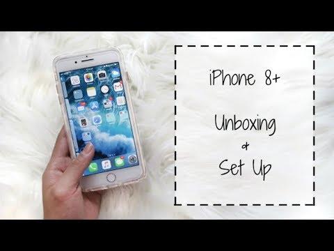 iPhone 8 Plus UNBOXING + Set Up!!