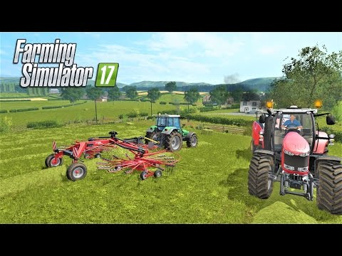 Farming Simulator 2017 | FLAT OUT WORK | Drumard Farm | Episode 4