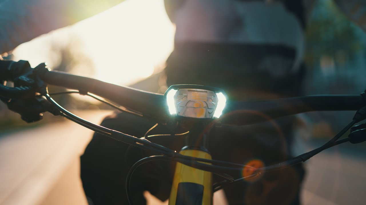 Lupine Sl X Next Level E Bike Light Youtube