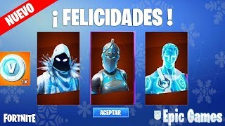 PACK OF GLACIAL LEGENDS SKINS + Initial Package + PaVos ? Fortnite ?