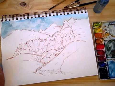 Mixed-Media Travel Sketching with Cathy Johnson
