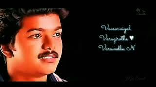 Vannanilavea Vijay love mass Melody status song Tamil | WhatsApp status song Tamil | #jagasmart