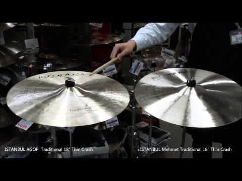 ISTANBUL Agop and Mehmet 18 Traditional Thin Clash