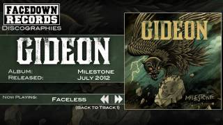 Gideon - Milestone - Faceless