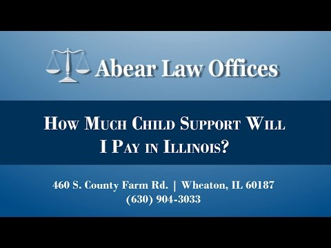 How Much Child Support Will I Pay in Illinois?