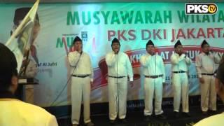 PKS TV - MARS PKS Izzatul Islam di Muswil 4 PKS DKI Jakarta