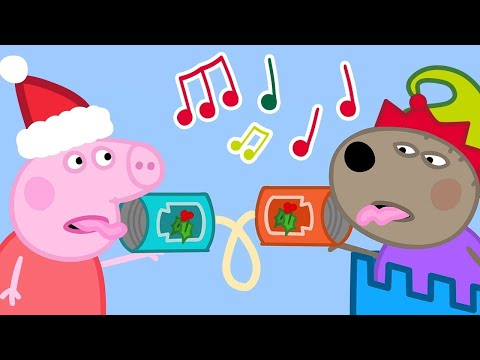 Kids Videos 🎄 Sharing is Caring 🎄 Peppa Pig Christmas | New Peppa Pig