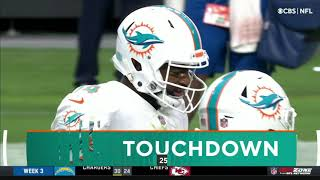 Jacoby Brissett \u0026 Dolphins clutch up late vs. Raiders