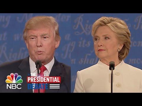 Hillary Clinton, Donald Trump Argue Over Late-Term Abortion | NBC News