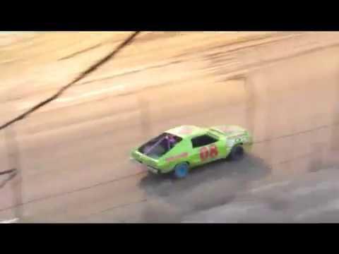 Desert Thunder Raceway Mini Stock Heat Race 9/29/17