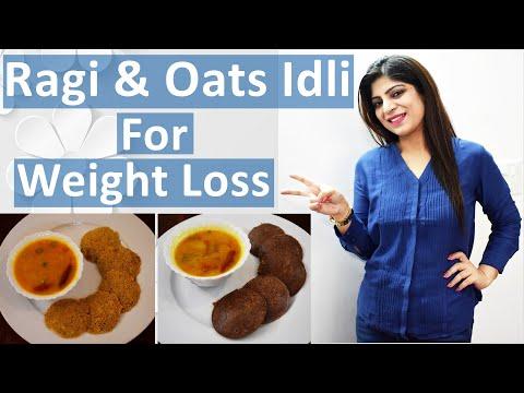 ragi-&-oats-idli-for-weight-loss-in-hindi-|-weight-loss-idli-|-ragi-idli-recipe-|-oats-idli-recipe