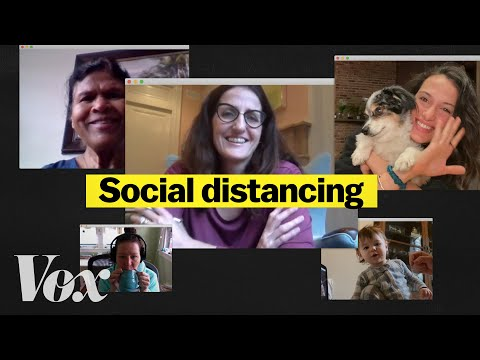 Social distancing during