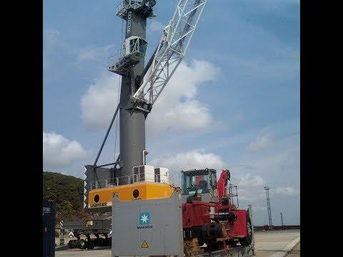 Портовый мобильный кран LIEBHERR LHM-400
