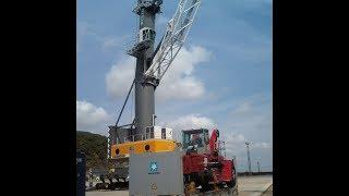 Портовый мобильный кран LIEBHERR LHM-400(Экскурсия по крану. Находка, Рыбный порт., 2013-12-09T05:00:57.000Z)