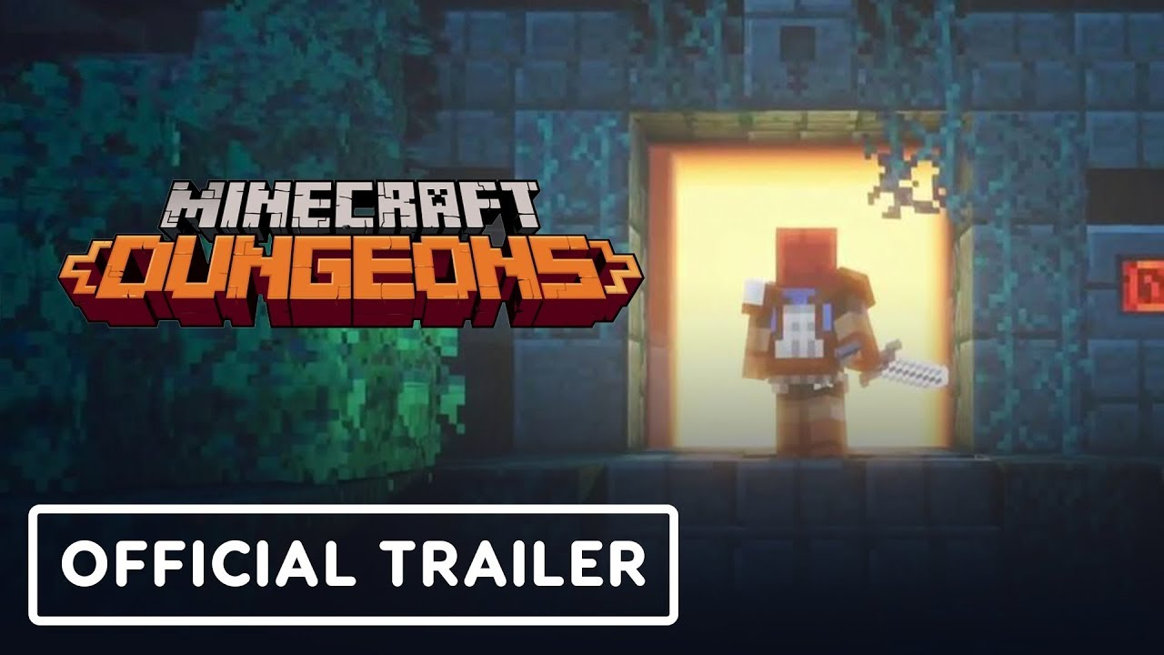 Minecraft Dungeons Gameplay Trailer - E3 2019