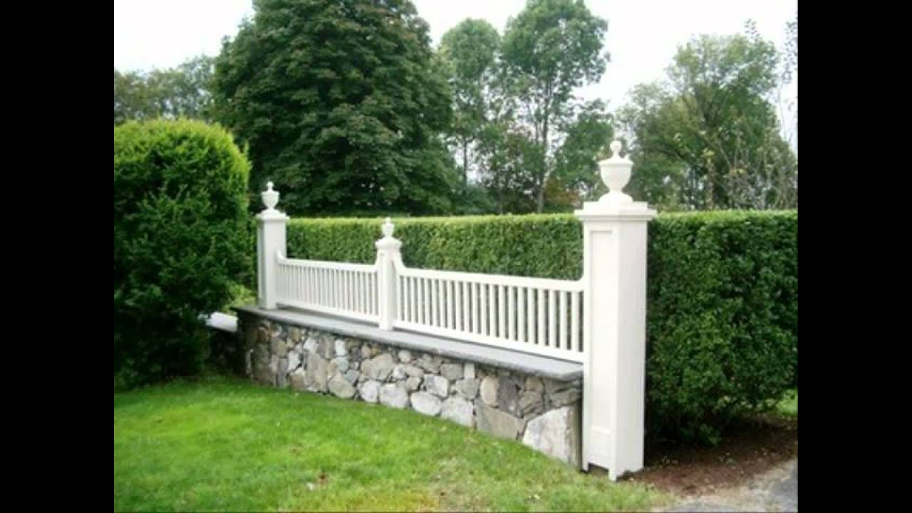 Diy Driveway Fence